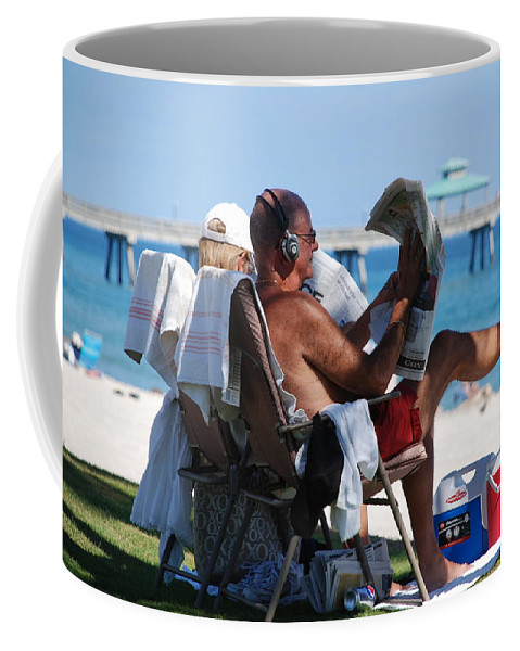 Man Coffee Mug featuring the photograph Working Hard by Rob Hans