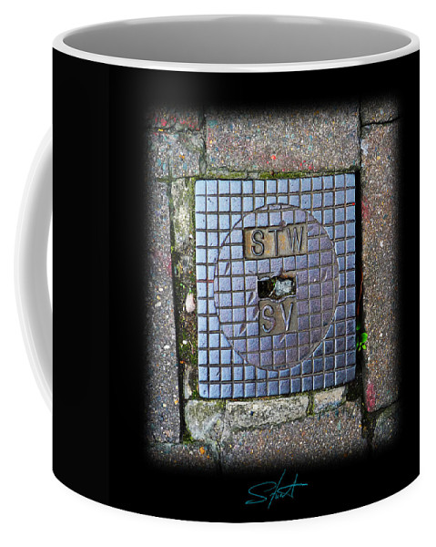 Cast Iron Coffee Mug featuring the photograph World View by Charles Stuart