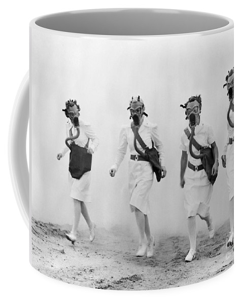 1942 Coffee Mug featuring the photograph World War II: Nurses by Granger