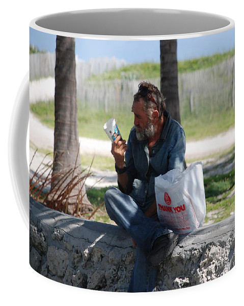Man Coffee Mug featuring the photograph Worldly Posessions by Rob Hans