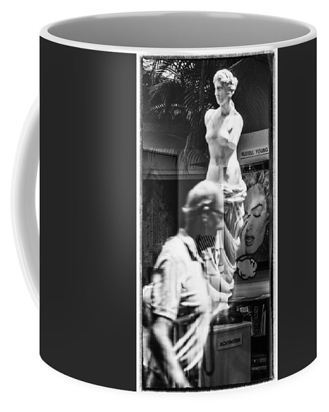 Florida Coffee Mug featuring the photograph Worth Ave Reflections 0496 by Bob Neiman