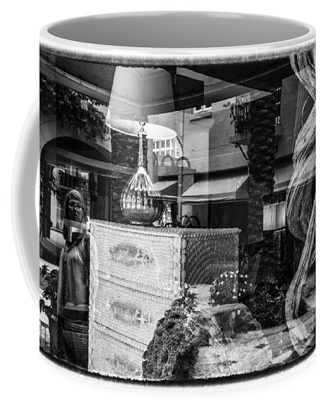 Florida Coffee Mug featuring the photograph Worth Ave Reflections 0510 by Bob Neiman