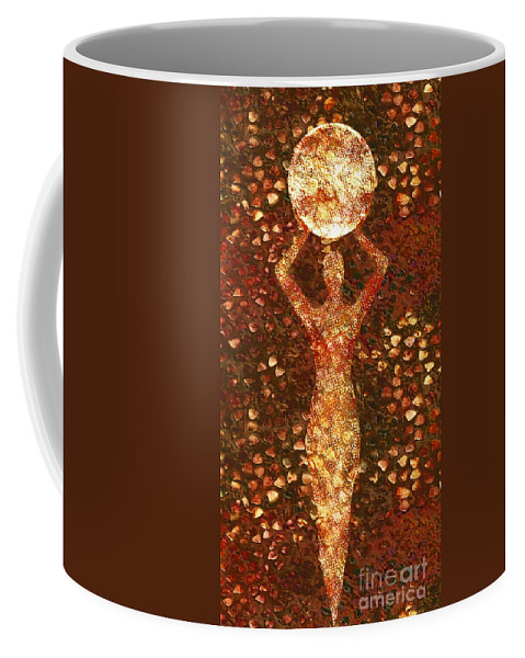Photodream Coffee Mug featuring the digital art Worth by Jacky Gerritsen