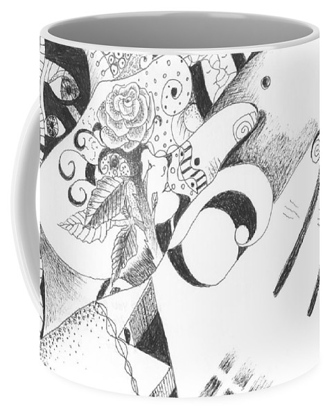 Healing Process Coffee Mug featuring the drawing Would You Believe by Helena Tiainen