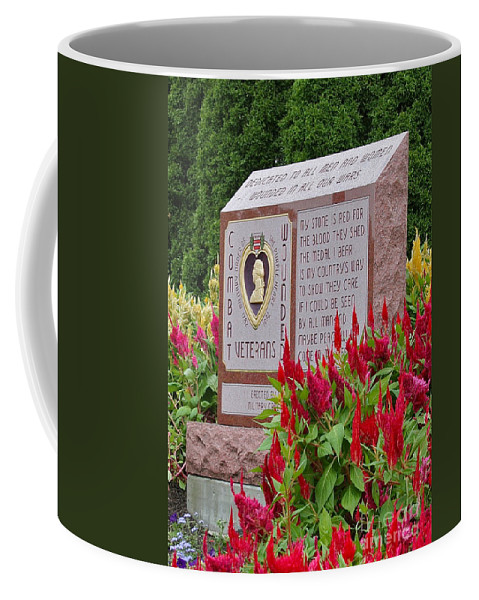 Monument Coffee Mug featuring the photograph Wounded by Rick Monyahan