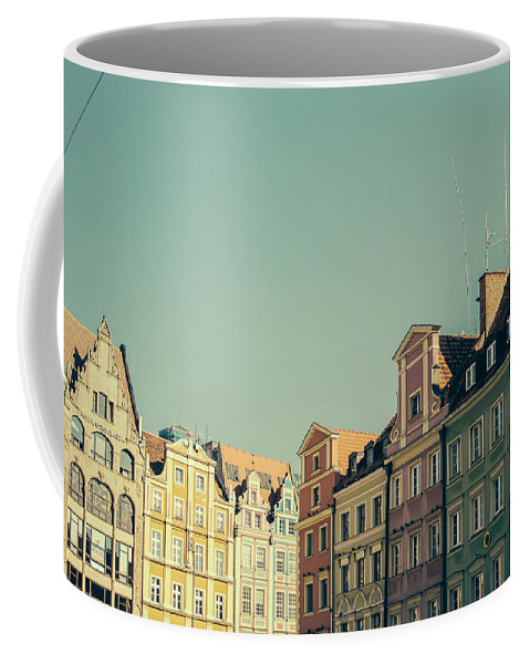 European Coffee Mug featuring the photograph Wroclaw Architecture by Pati Photography