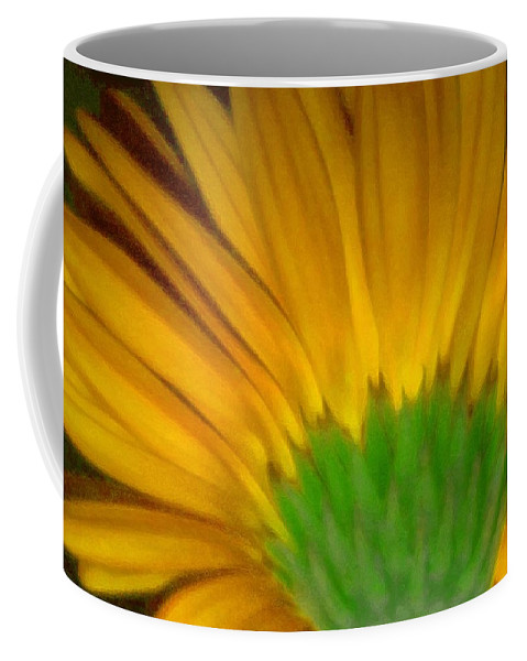 Coffee Mug featuring the photograph Yellow by Andre Giovina