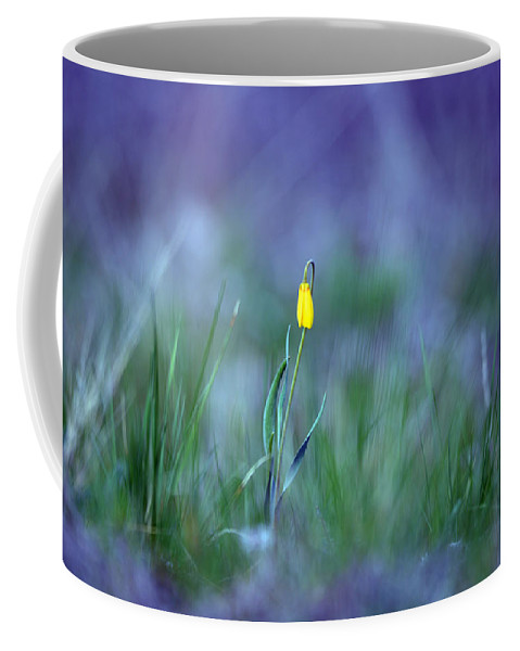 Montana Coffee Mug featuring the photograph Yellow Bells by Whispering Peaks Photography