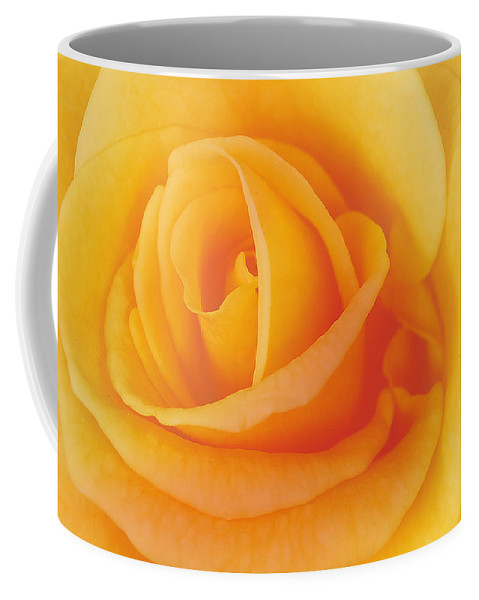 Flower Coffee Mug featuring the photograph Yellow Blend by Michael Peychich