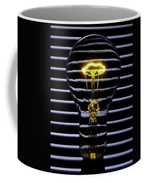 Yellow Coffee Mug featuring the photograph Yellow Bulb by Rob Hawkins