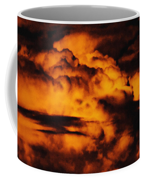 Cloud Coffee Mug featuring the digital art Clouds Time by Max Steinwald