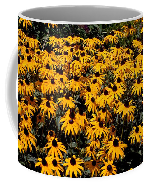 Digital Photo Coffee Mug featuring the photograph Yellow Is The Color Of ..... by David Lane