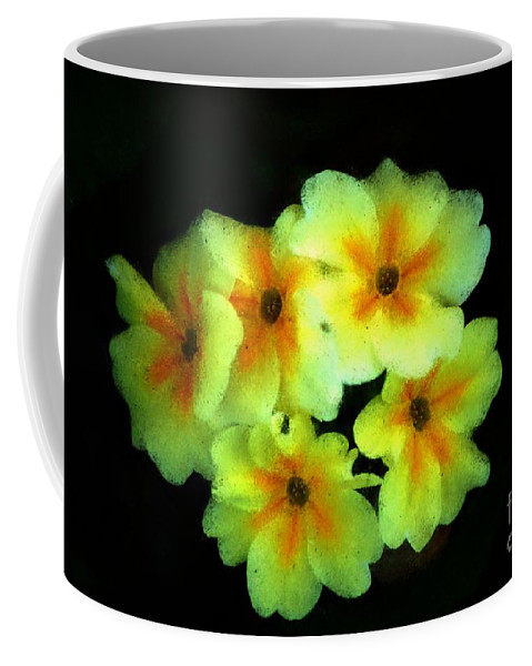 Digital Photo Coffee Mug featuring the photograph Yellow Primrose 5-25-09 by David Lane