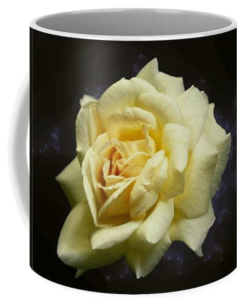 Yellow Rose Coffee Mug featuring the photograph Yellow Rose 2 by Tim Allen