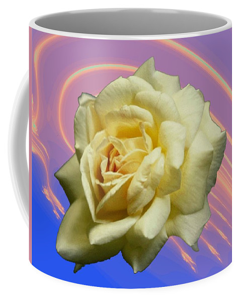 Rose Coffee Mug featuring the photograph Yellow Rose 3 by Tim Allen