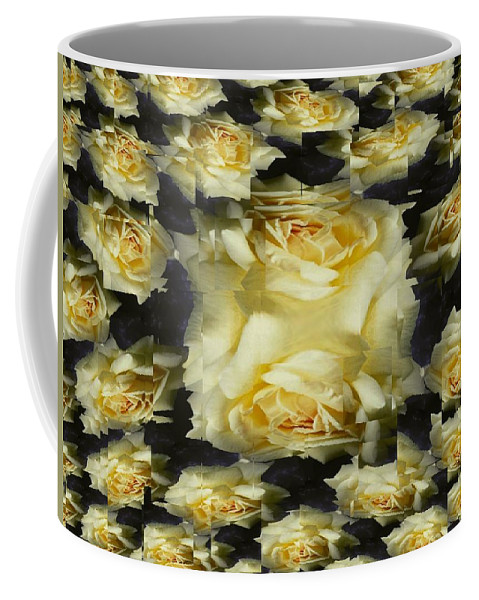 Rose Coffee Mug featuring the photograph Yellow Roses 2 by Tim Allen