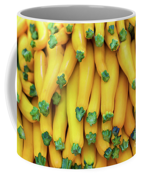 Vegetable Coffee Mug featuring the photograph Yellow Zucchini by Bruce Block
