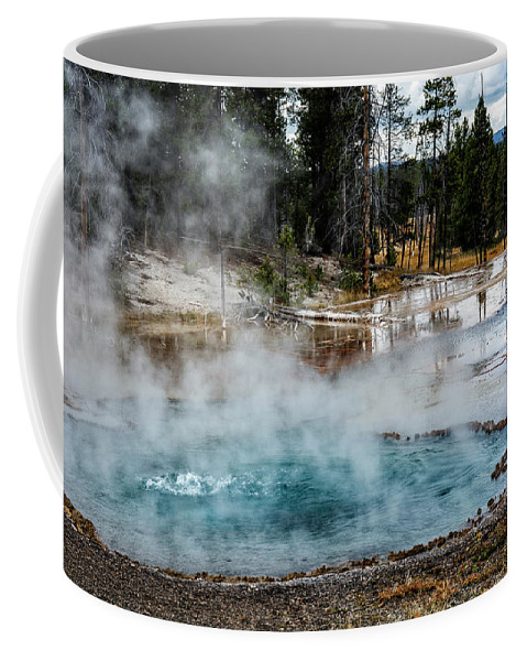 Yellowstone Coffee Mug featuring the photograph Yellowstone Colors #2 by Scott Read