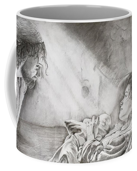 Nativity Scene Coffee Mug For Sale By Tim Leben