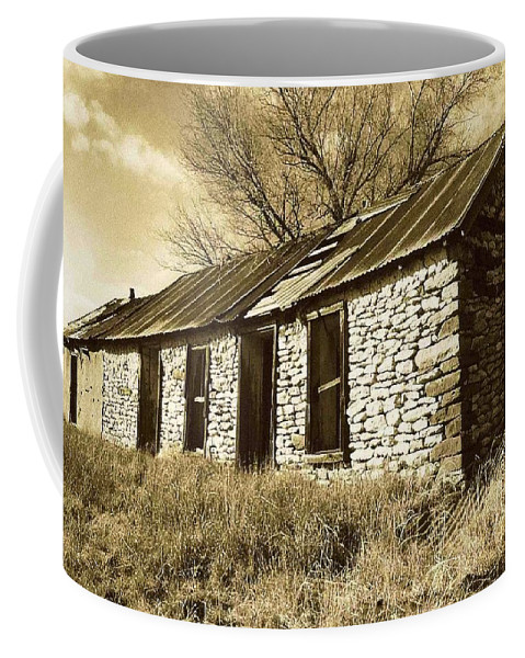 New Mexico Coffee Mug featuring the photograph Yeso New Mexico 1 by Nelson Strong