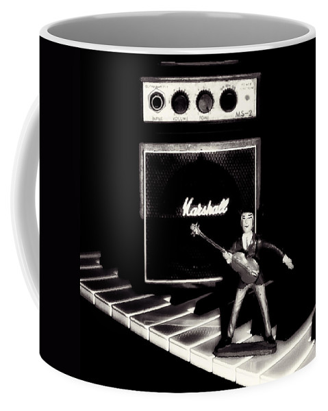 Beatles Coffee Mug featuring the photograph Yesterday - Beatle Paul by Bill Cannon