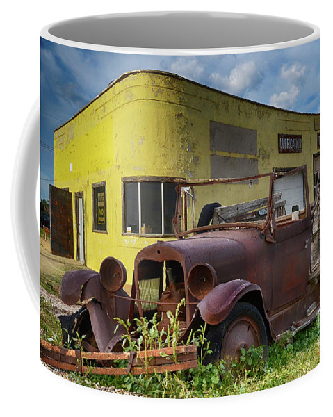 Car Coffee Mug featuring the photograph Yesterday Once More by Bob Christopher