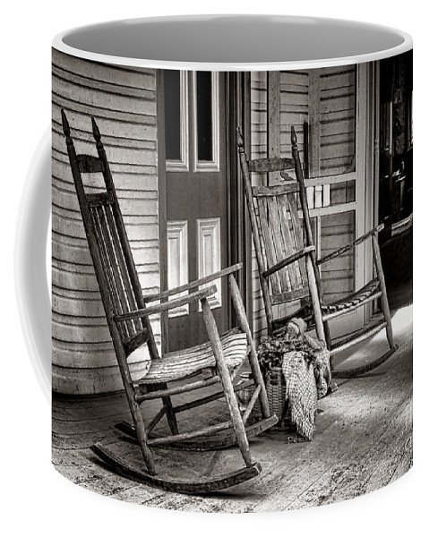 Rocking Coffee Mug featuring the photograph Yesteryear by Olivier Le Queinec