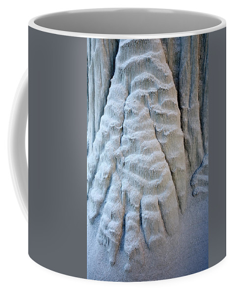 Paw Coffee Mug featuring the photograph Yetti's Paw by Mike Dawson