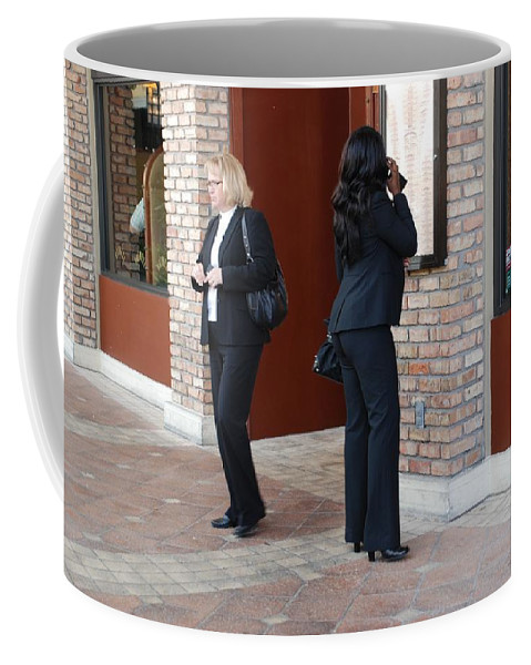 Girls Coffee Mug featuring the photograph Ying Yang by Rob Hans