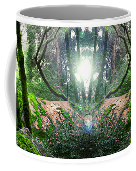 Surreal Landscape Coffee Mug featuring the photograph Yo Moss by Mykel Davis