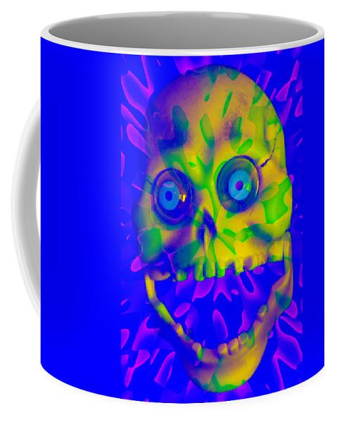 Digital Coffee Mug featuring the digital art Astrophagus by Steven Scanlon