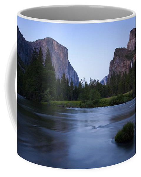 Yosemite Coffee Mug featuring the photograph Yosemite Twilight by Mike Dawson