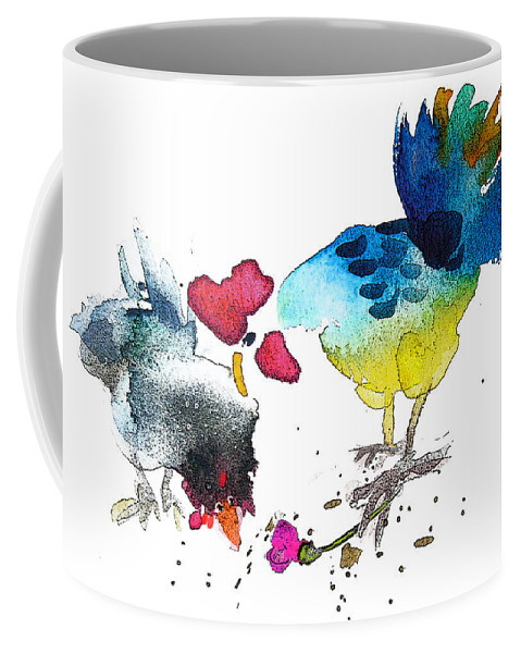 Fun Coffee Mug featuring the painting You Are My Sweet Heart by Miki De Goodaboom
