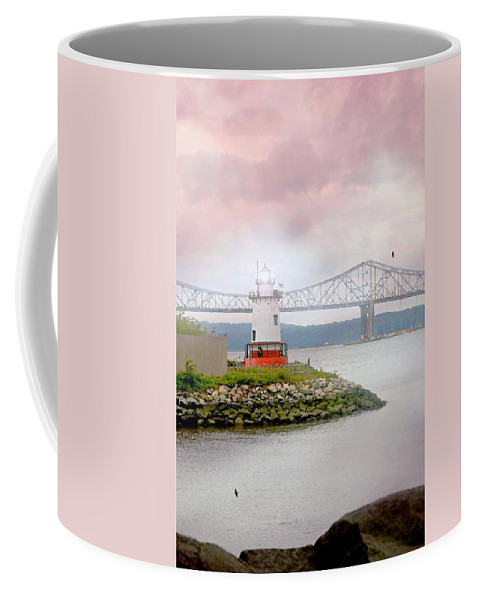 Lighthouse Coffee Mug featuring the photograph You Know How To Love Me by Diana Angstadt