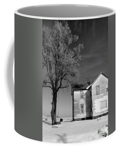 Iowa Coffee Mug featuring the photograph You Know Its Not No Easy Life by David Bearden