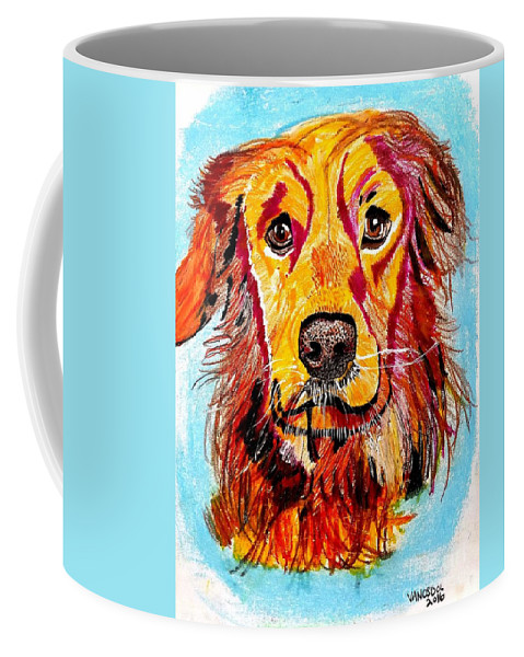 Old Coffee Mug featuring the drawing Young At Heart by Scott D Van Osdol