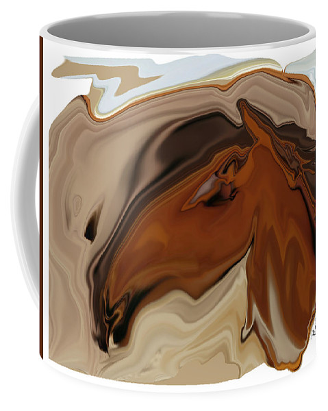 Youngster Coffee Mug featuring the digital art Youngster by Rabi Khan