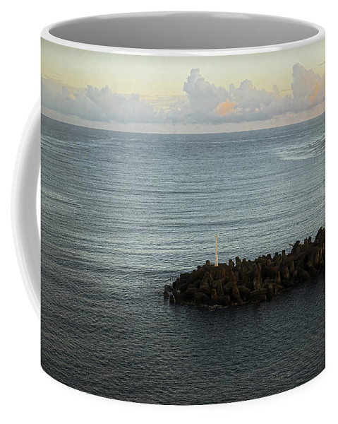South Pacific Coffee Mug featuring the photograph Your Call Leads Me Out by Lucinda Walter