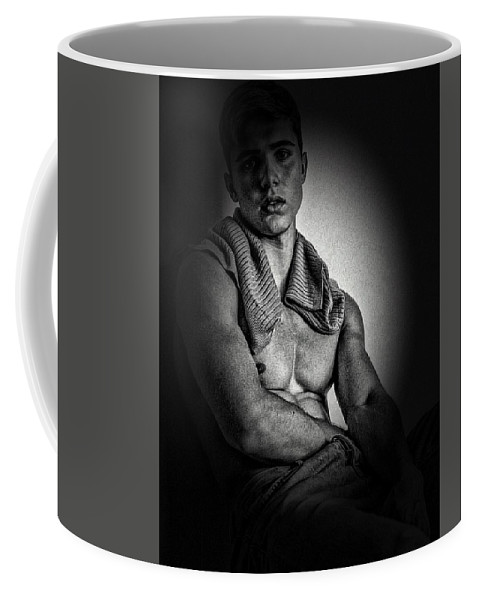 Digital Art And Mixed Media Coffee Mug featuring the digital art Youth by Lawrence Allen