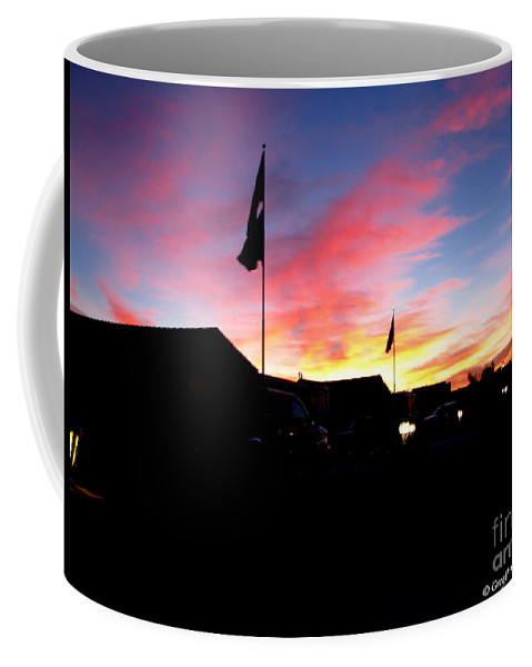 Patzer Coffee Mug featuring the photograph Yuma Sky by Greg Patzer