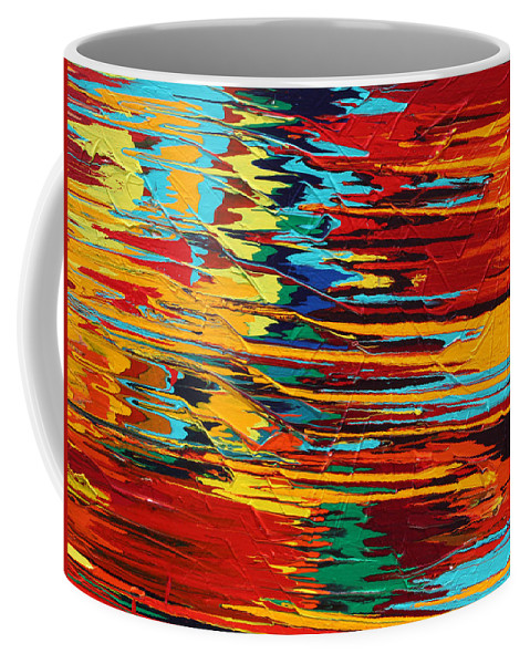 Fusionart Coffee Mug featuring the painting Zap by Ralph White