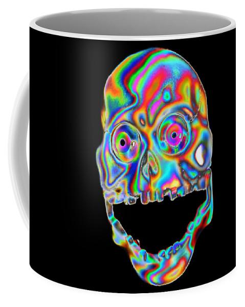 Digital Coffee Mug featuring the digital art El Esdy by Steven Scanlon