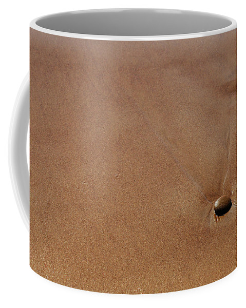 Clay Coffee Mug featuring the photograph Zen At The Beach by Clayton Bruster