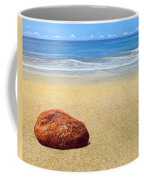 Puerto Vallarta Coffee Mug featuring the painting Zen by Hunter Jay