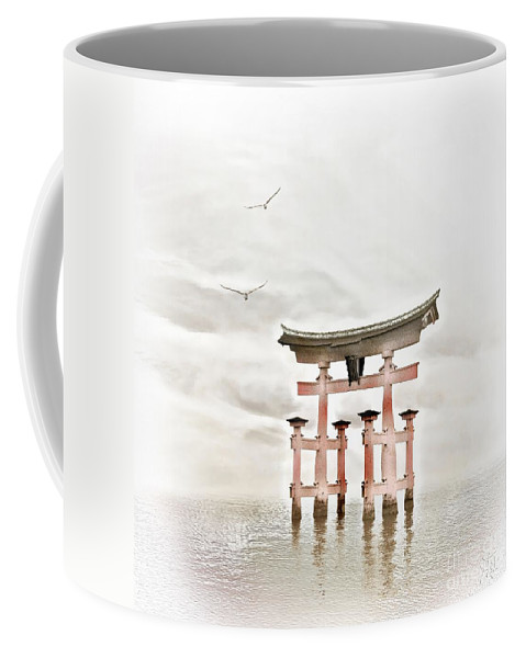 Photodream Coffee Mug featuring the photograph Zen by Jacky Gerritsen