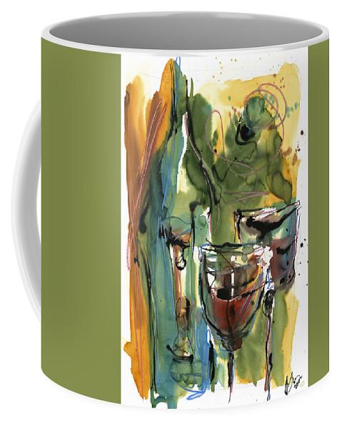 Wine Coffee Mug featuring the painting Zin-findel by Robert Joyner