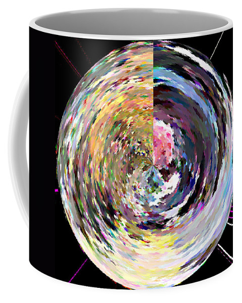 Digital Coffee Mug featuring the painting Zing by Anil Nene