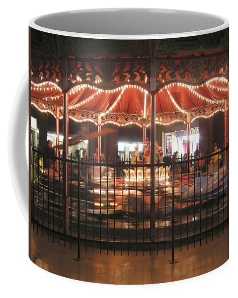 Americana Coffee Mug featuring the photograph Around And Around by Dean Pratali