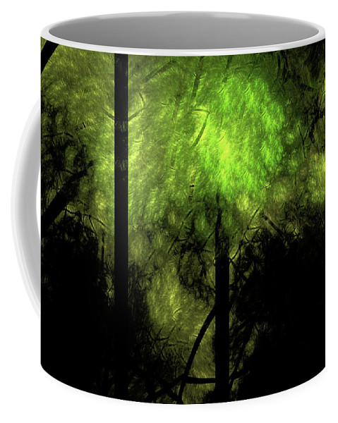Forest Coffee Mug featuring the digital art Forest Light by Gary Blackman