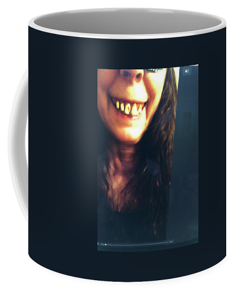 Monster Coffee Mug featuring the photograph Halloween Witch by Laureen Sabella